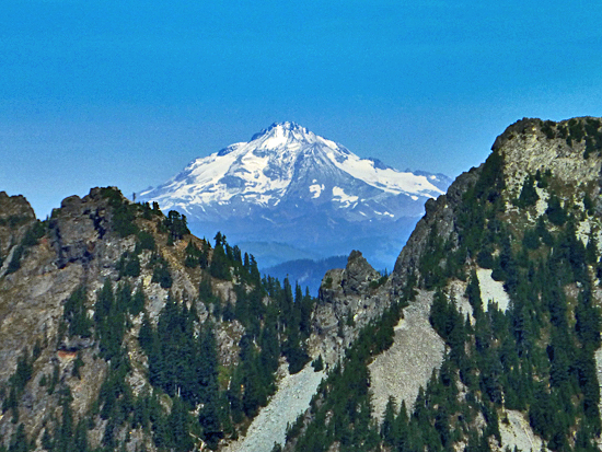 Glacier Peak from the Granite Mountain Trail